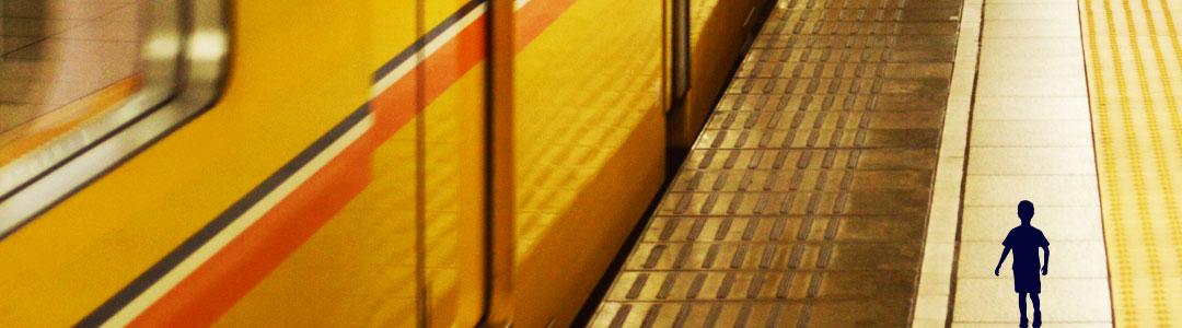photo d'un quai de métro vide illustrant l'abstention